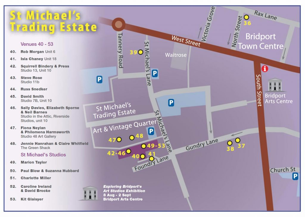 Map 6: Bridport