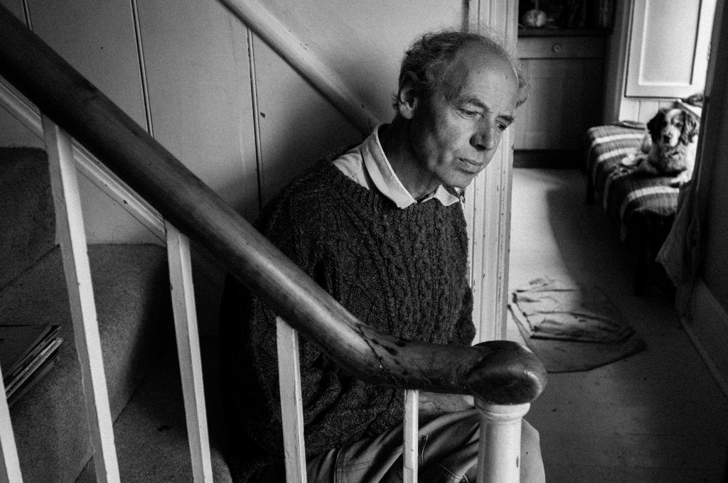 Portrait of David Risk Kennard by Pete Millson