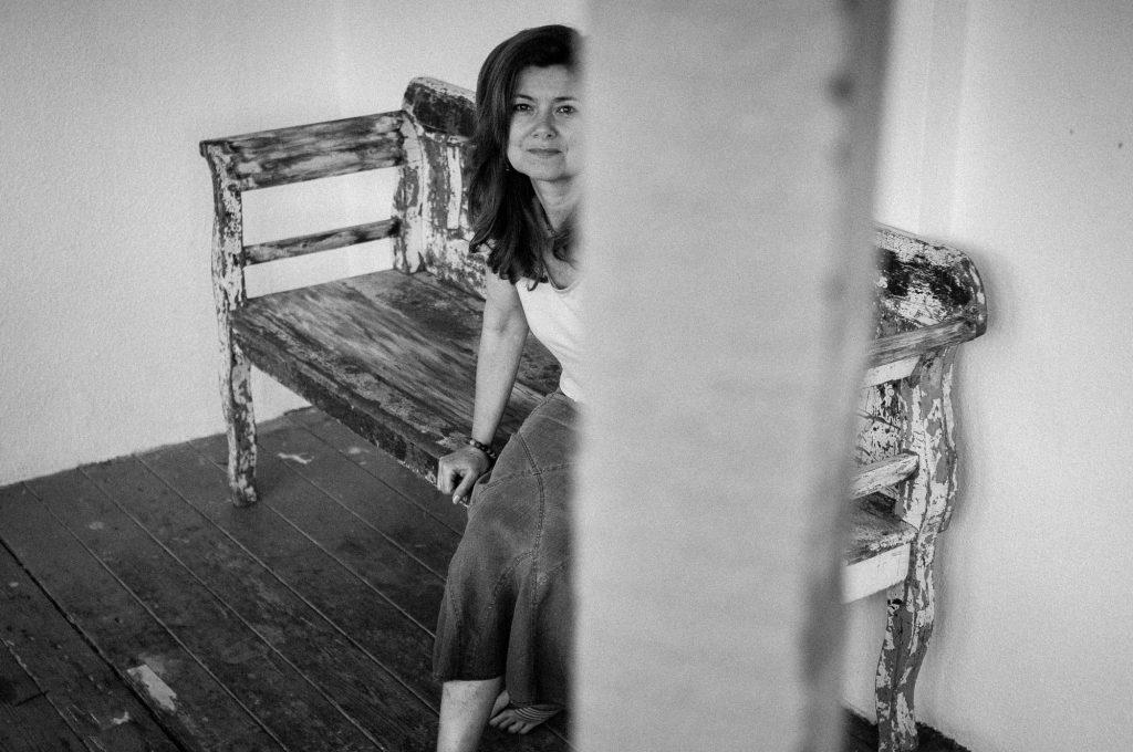 Portrait of Elizabeth Sporne by Pete Millson