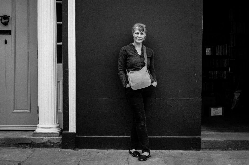 Portrait of Liz Somerville by Pete Millson