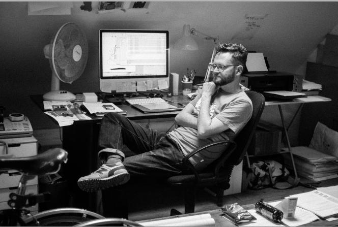 Portrait of Paul Blow by Pete Millson