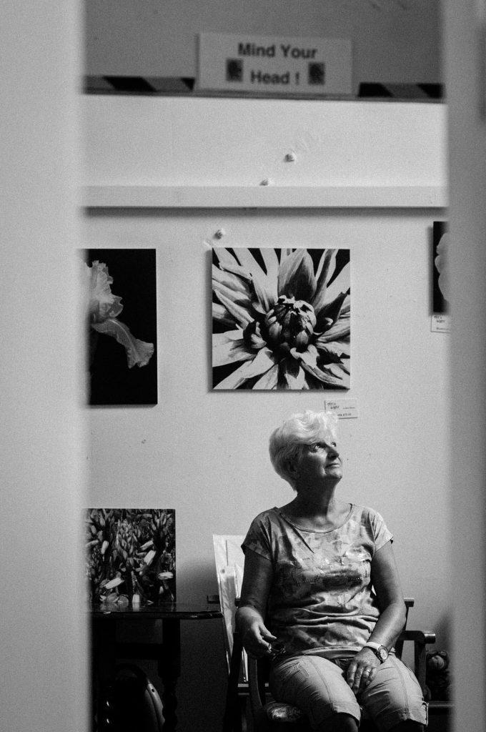 Portrait of Sally Davies by Pete Millson