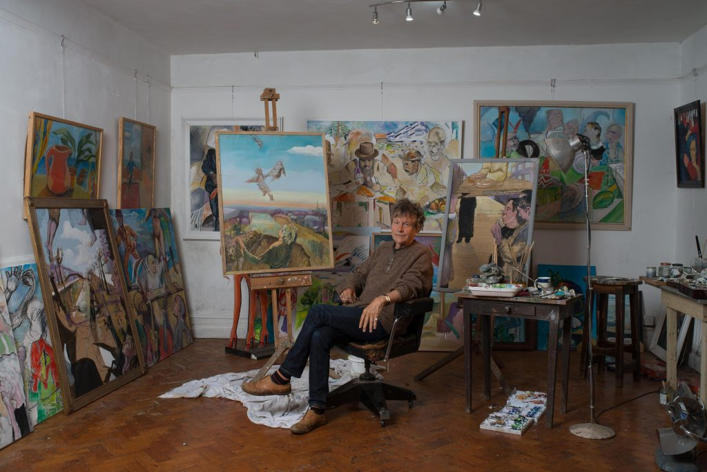 Portraits of the Artists by George Wright